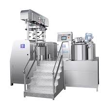 RHJ-D Vacuum emulsifying mixer (PLC touch screen control type)